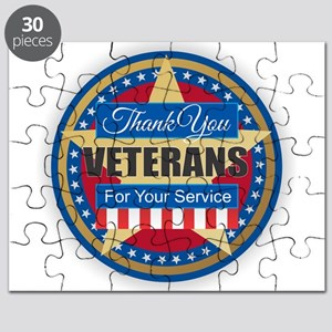 Thank You Veterans Puzzle
