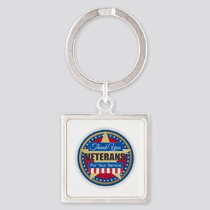 Thank You Veterans Keychains