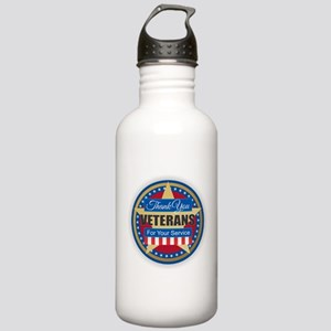 Thank You Veterans Stainless Water Bottle 1.0L