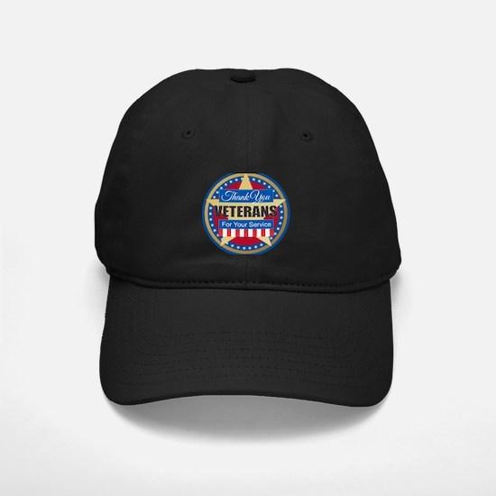 Thank You Veterans Baseball Hat