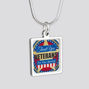 Thank You Veterans Necklaces