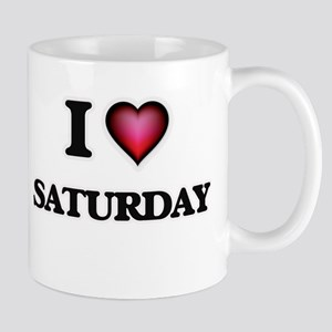 I Love Saturday Mugs