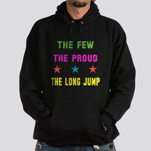 The Few, The Proud, The Long Jump Hoodie (dark)