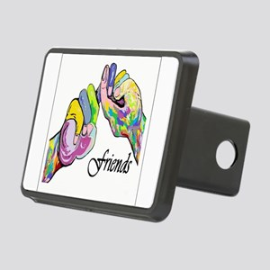 ASL Friends Rectangular Hitch Cover