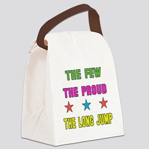 The Few, The Proud, The Long Jump Canvas Lunch Bag