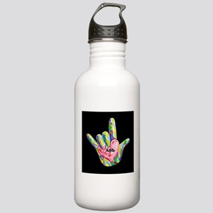 I Heart ASL Stainless Water Bottle 1.0L