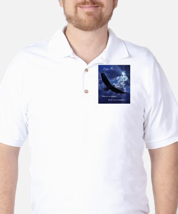 Why do we forget? Golf Shirt