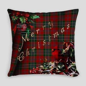 Cardinal Christmas Everyday Pillow