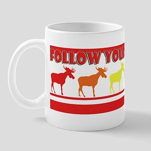 Rainbow Moose Mug