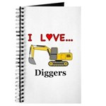 I Love Diggers Journal
