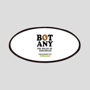 BOTANY - THE STUDY OF ARSEHOLES - UNIVERSITY Patch