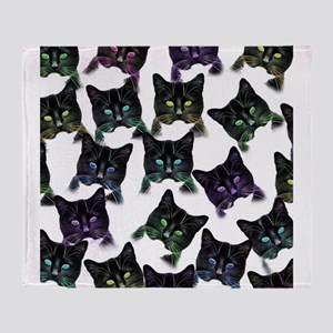 Cool Cats! Throw Blanket