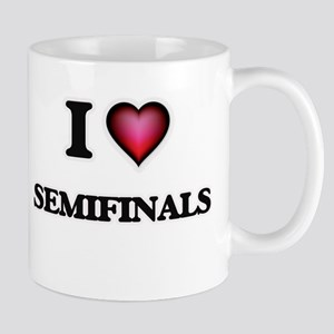 I Love Semifinals Mugs