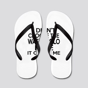 Water Polo It Chose Me Flip Flops