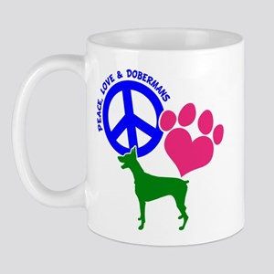 P,l,dobermans Mug Mugs