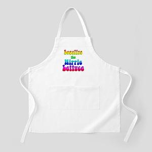 Legalize the Hippie Lettuce BBQ Apron