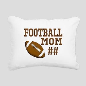Football Mom Rectangular Canvas Pillow