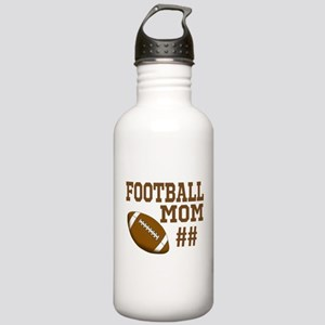 Football Mom Water Bottle