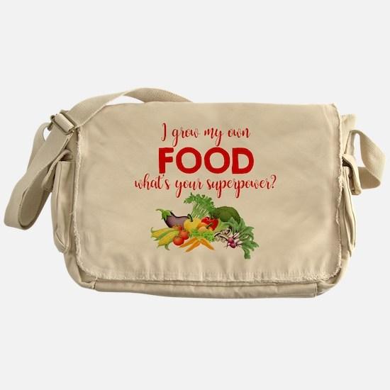 Cute Gardening Messenger Bag
