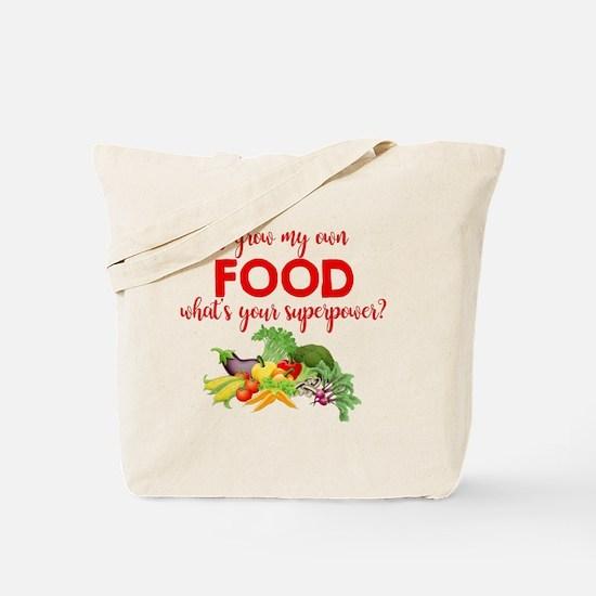Unique Sustainable food Tote Bag