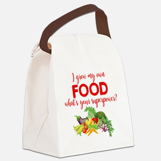 Funny Gardening Canvas Lunch Bag