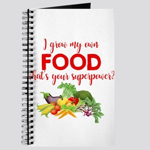 Grow My Own Food Journal