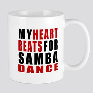 My Heart Beats For Samba Dance Designs Mug