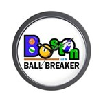 Boston Ball Breaker Wall Clock