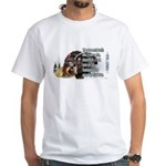 Turkey Talk White T-Shirt