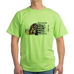 Turkey Talk Green T-Shirt