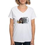 Turkey Talk Women's V-Neck T-Shirt