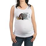 Turkey Talk Maternity Tank Top