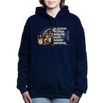 Turkey Talk Women's Hooded Sweatshirt
