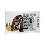 Turkey Talk Rectangle Magnet (100 pack)