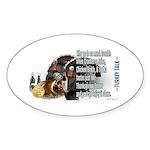 Turkey Talk Sticker (Oval 50 pk)
