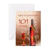 101st birthday Greeting Cards