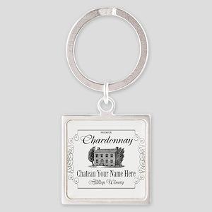 Classic Custom Chardonnay Keychains