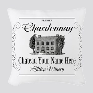Classic Custom Chardonnay Woven Throw Pillow