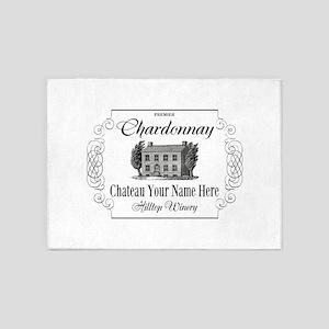 Classic Custom Chardonnay 5'x7'Area Rug