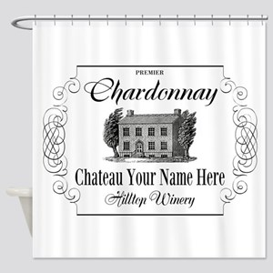 Classic Custom Chardonnay Shower Curtain