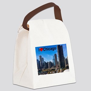 Chicago 2 Canvas Lunch Bag