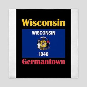 Germantown Wisconsin Queen Duvet