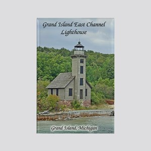 Grand Island East Channel Lighthouse Magnets