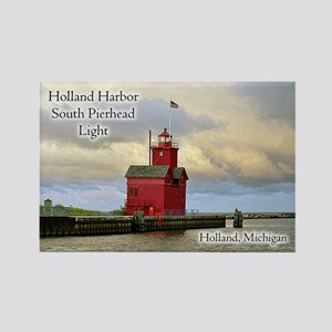 Holland Harbor South Pierhead Light Magnets
