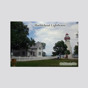 Marblehead Lighthouse Wide Magnets
