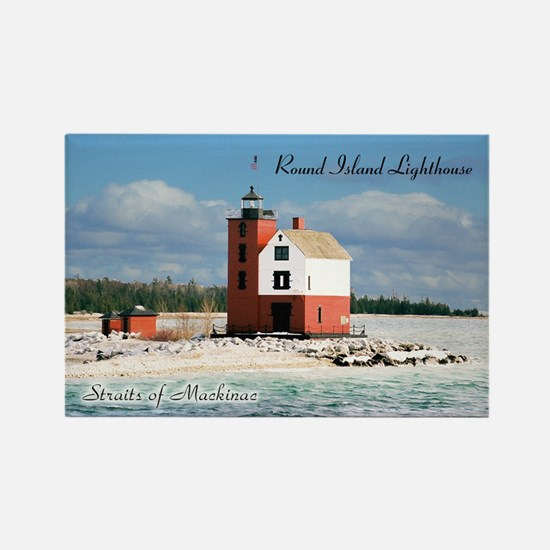 Round Island Lighthouse Magnets