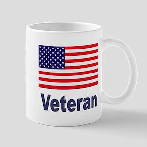 American Flag Veteran Mugs