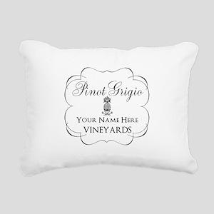 Pinot Grigio Rectangular Canvas Pillow