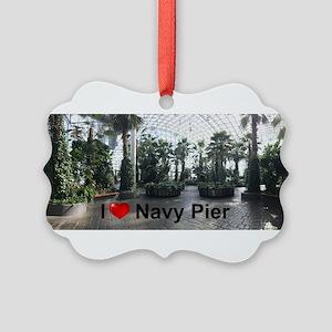 Navy Pier 1 Picture Ornament
