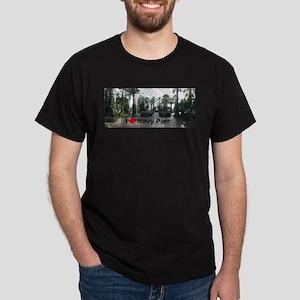 Navy Pier 1 Dark T-Shirt
